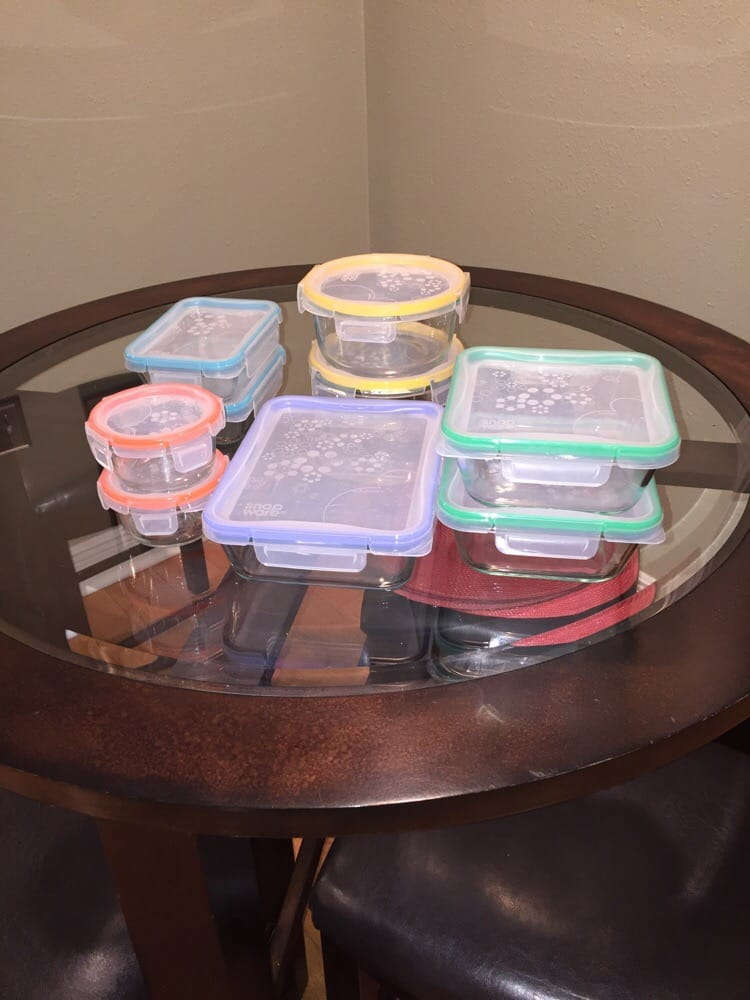 Snapware Pyrex glass storage containers Bye bye plastic Yelp