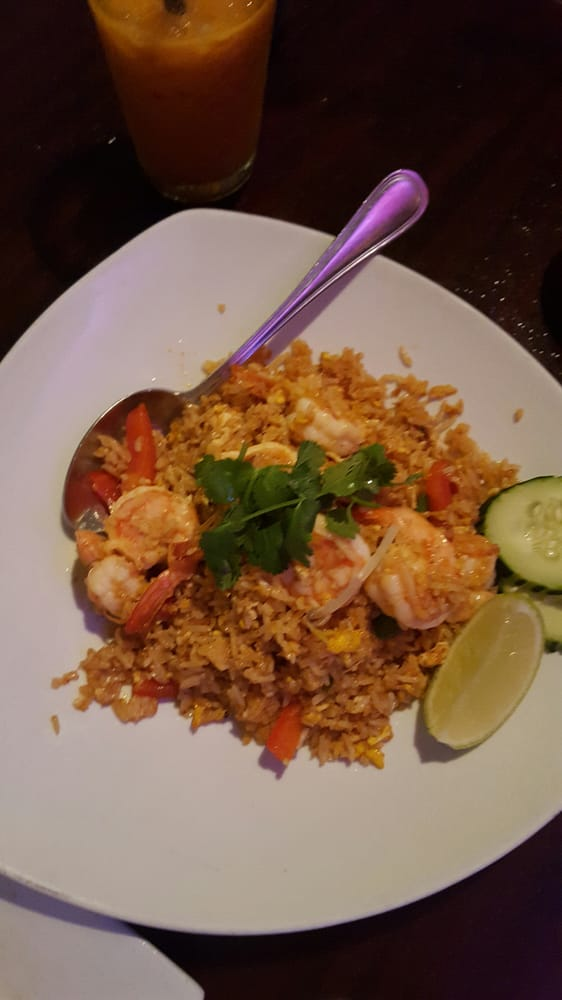 Shrimp paste fried rice yelp for Ayara thai cuisine los angeles ca