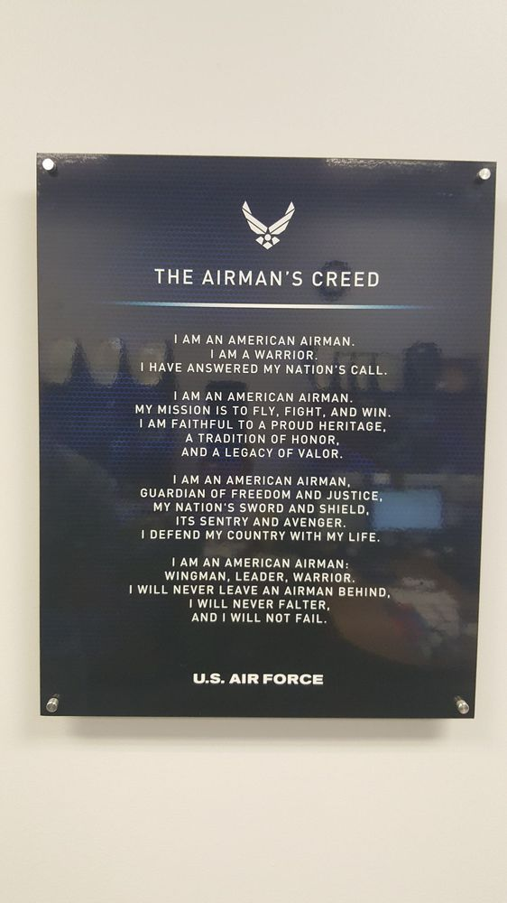 The airmans creed yelp photo of us air force recruitment center brea ca united states the altavistaventures Images