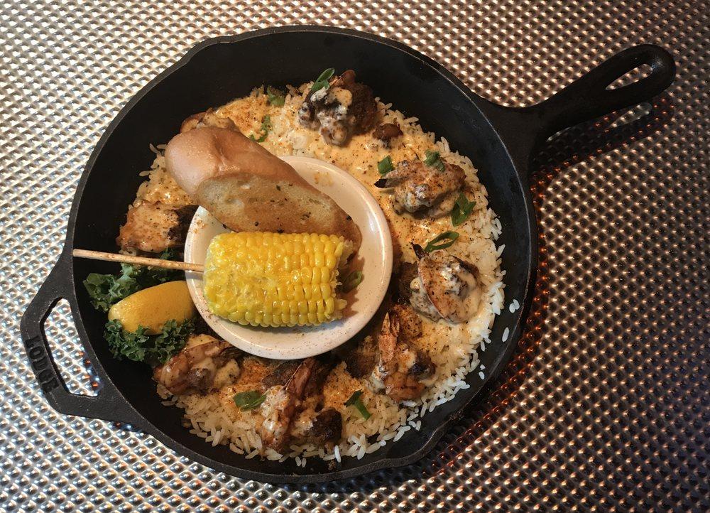 Food from Razzoo's Cajun Cafe