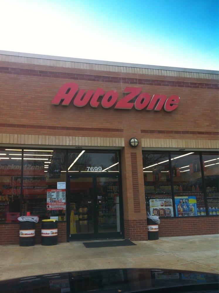 Autozone: 7699 Farmington Blvd, Germantown, TN