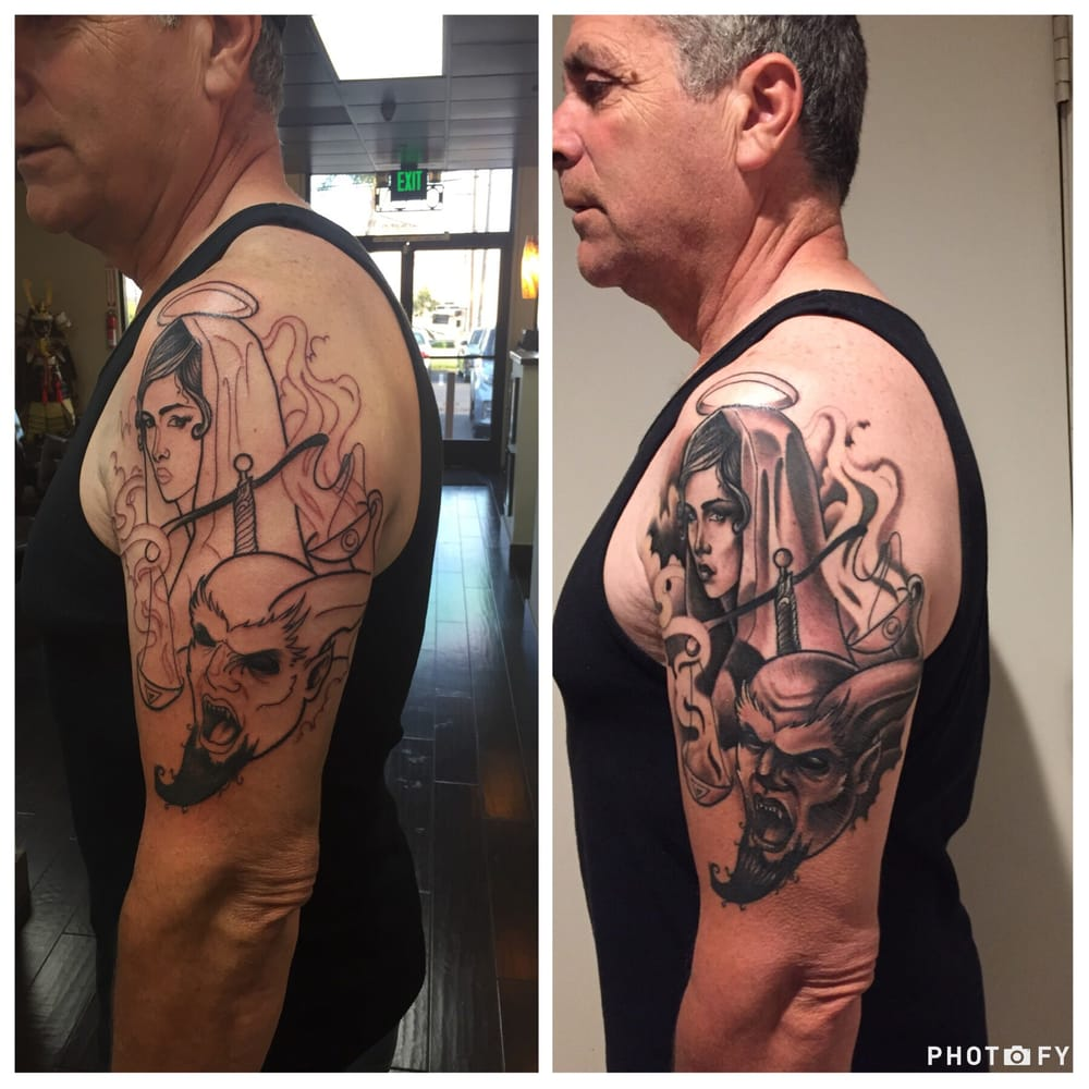 Tattoo alchemy 73 photos 90 reviews tattoo parlours for Tattoo shops in moreno valley