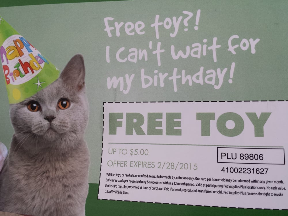 When You Sign Up On Their Website Enter Your Pets Birthday They