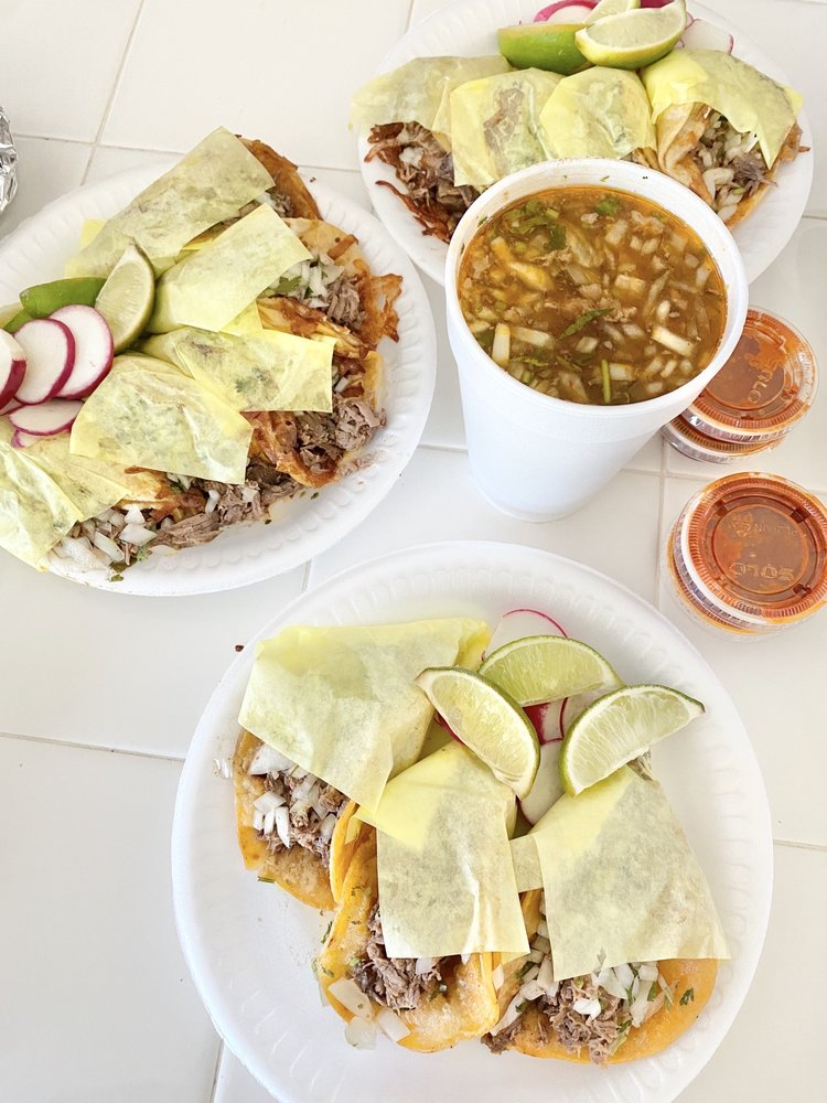 Food from Birreria Gonzalez