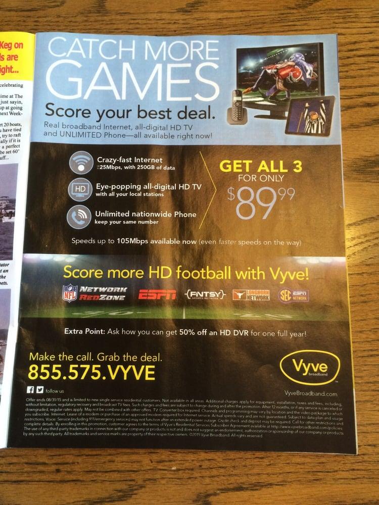 Vyve Broadband: Shawnee, OK