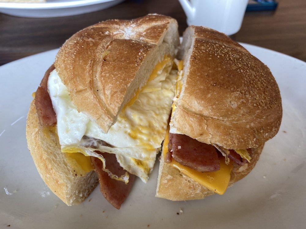 Food from Hungry Hobo Coffee Shop