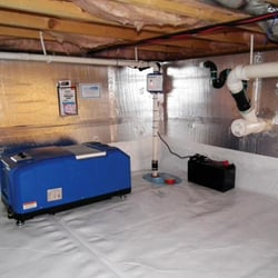 Photo Of Dry Crawl E Cashiers Nc United States Dehumidifier And Sump