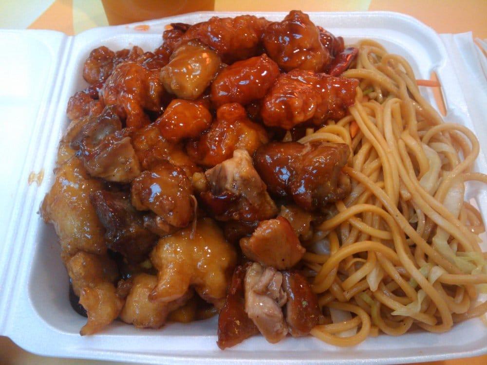 Noodles, Mango Chicken, Teriyaki Chicken, Bang Bang ...