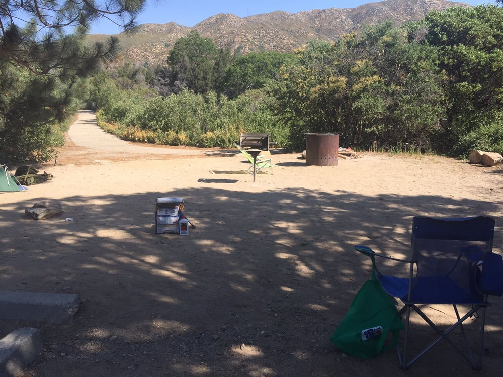 Campsite 43 yelp for Hesperia lake fishing report
