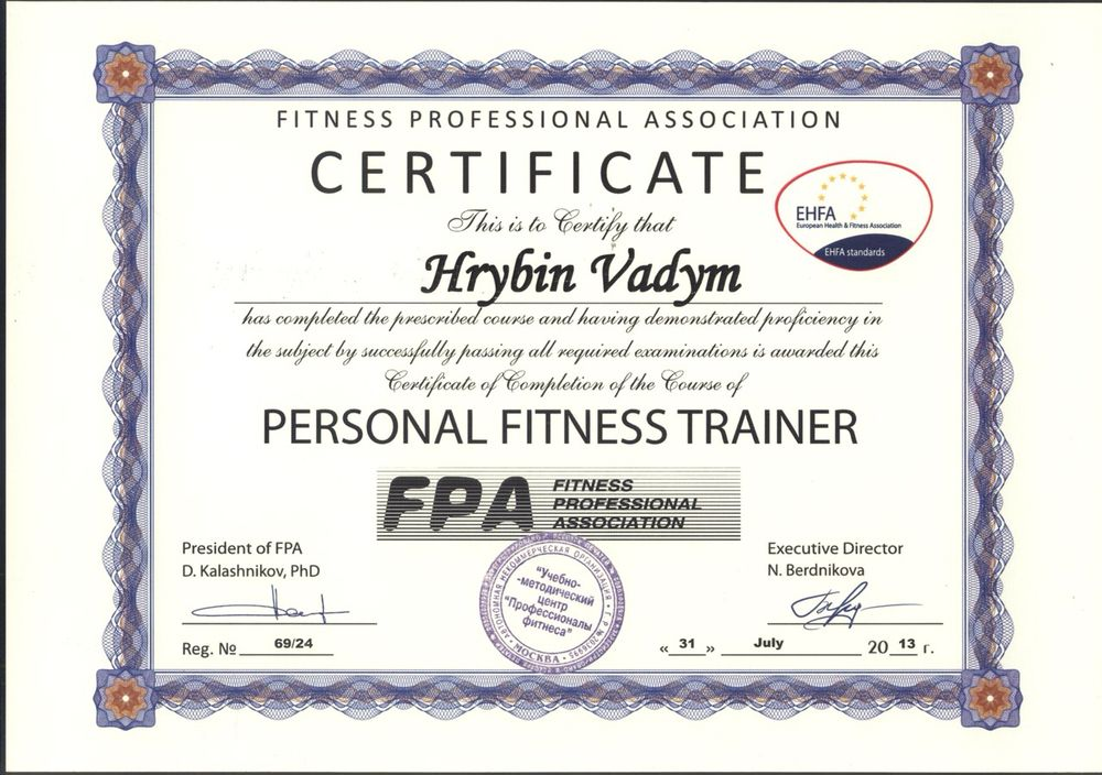 Photos For Personal Training With Vadym Yelp