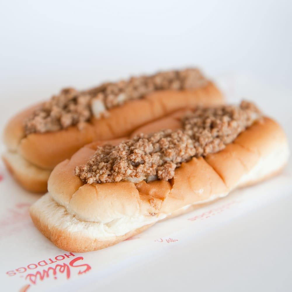 Skins' Hotdogs: 1027 S Pendleton St, Easley, SC