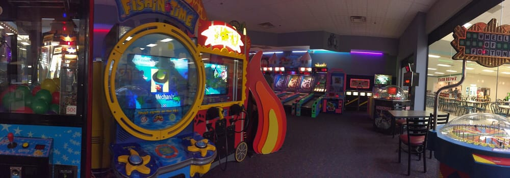 High Voltage Arcade : Some games yelp