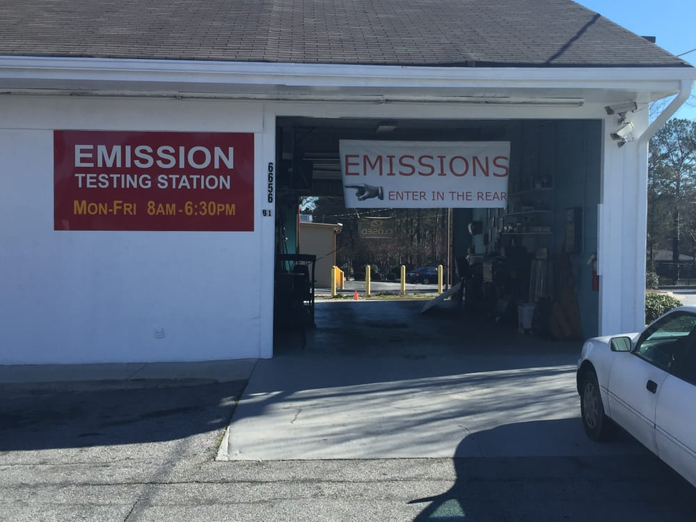 Brown's Emission Services: 6656 Tara Blvd, Jonesboro, GA