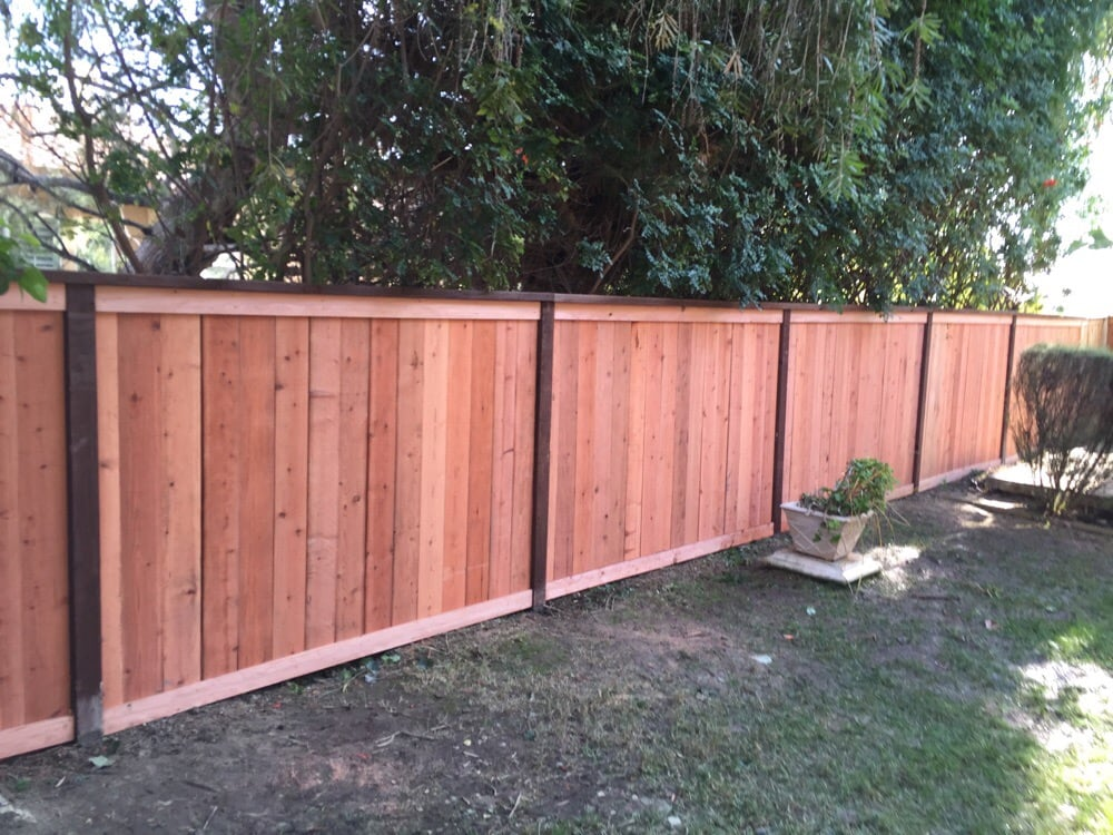 Redwood Fence 88 photos for Economy Fence u0026 Patio