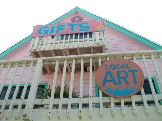 Out of the Blue Gallery & Gifts: 29842 Overseas Hwy, Big Pine Key, FL