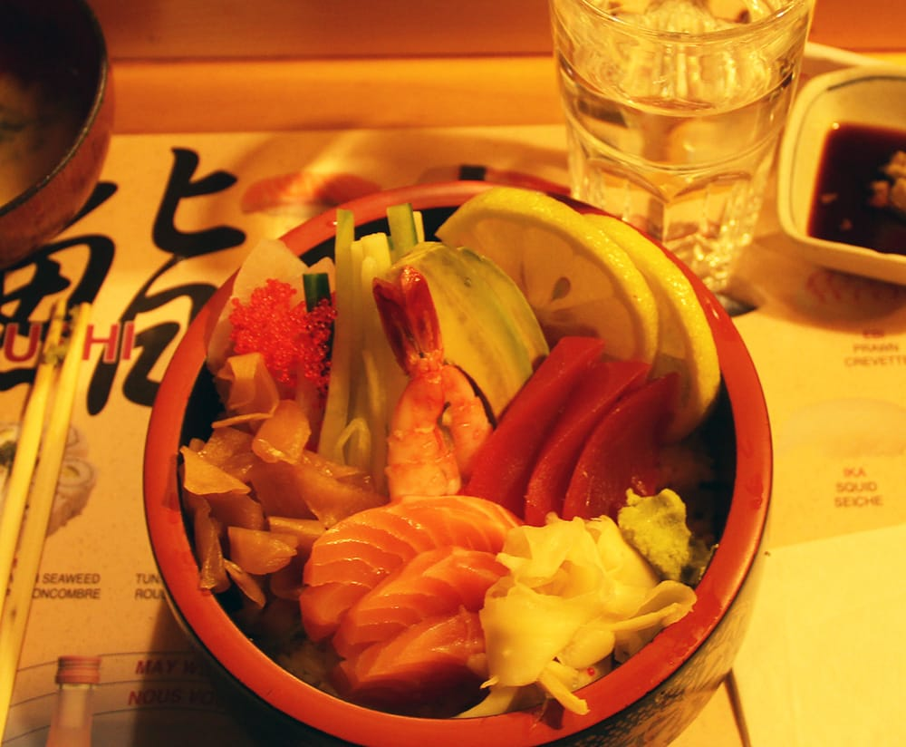 Chirashi for lunch yelp for Asuka japanese cuisine