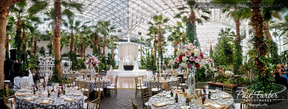 Photo Of The Crystal Gardens Chicago Il United States Wedding Reception At