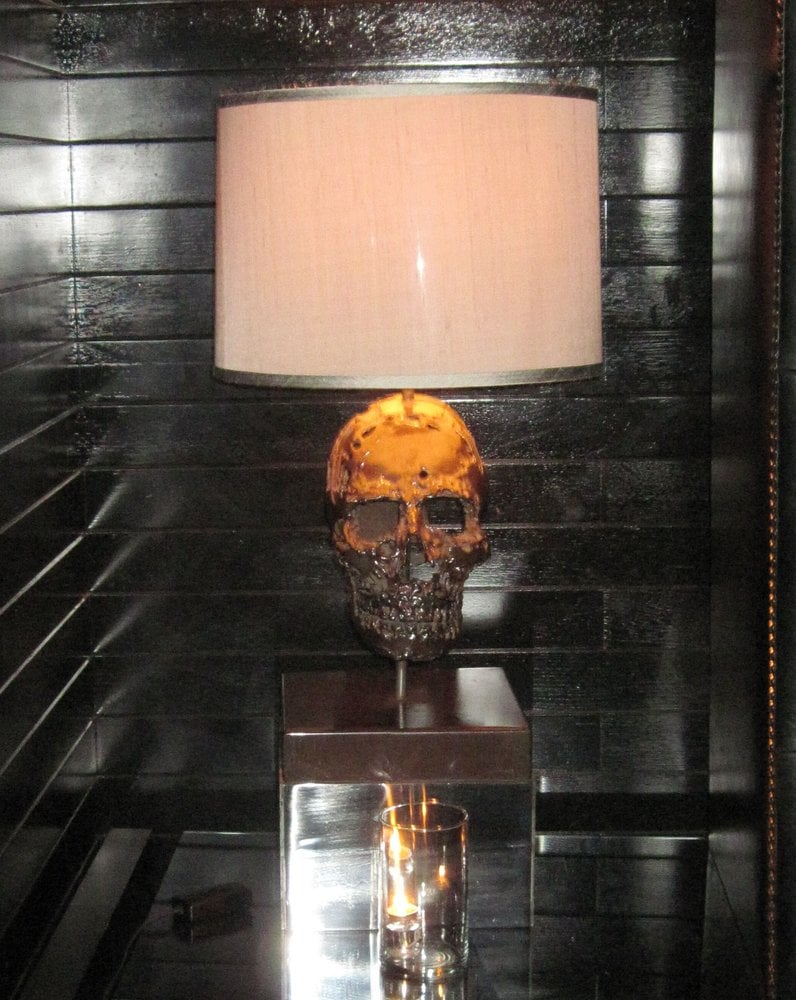 Metal skulls popped up here and there    - Yelp