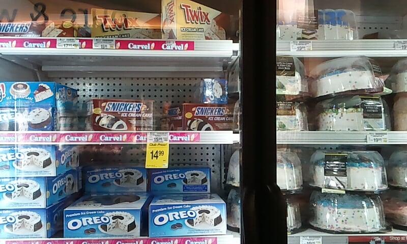 Safeway Ice Cream Cake Price