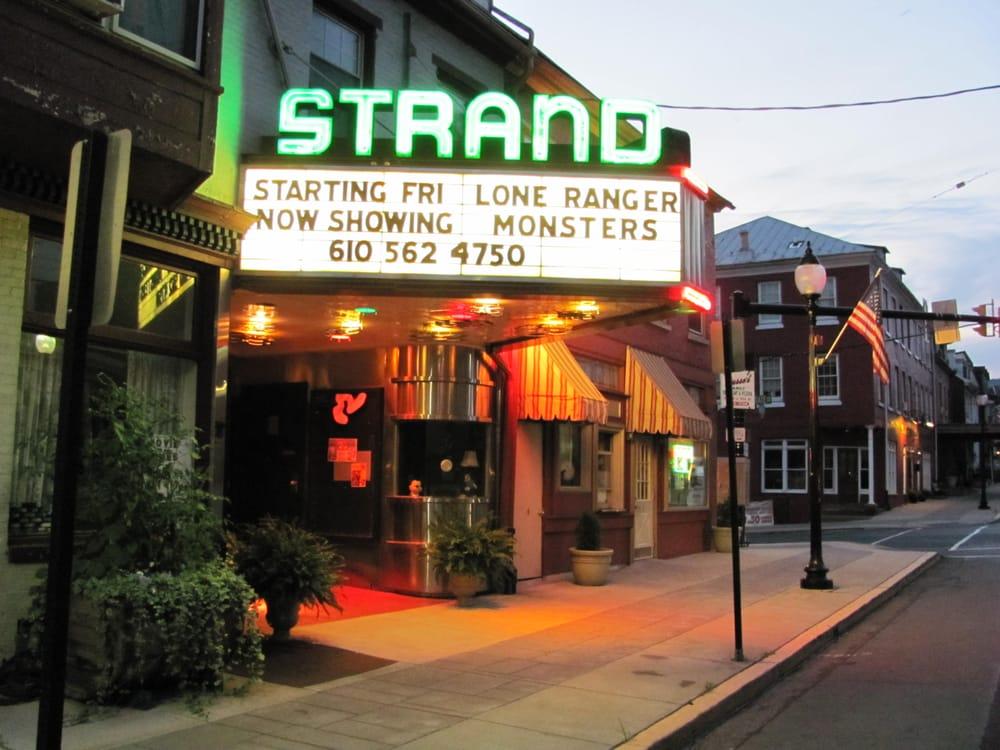 The Hamburg Strand Theater: 6 S 4th St, Hamburg, PA