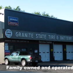 Granite state tire battery tyres 945 hanover st for State motors manchester nh