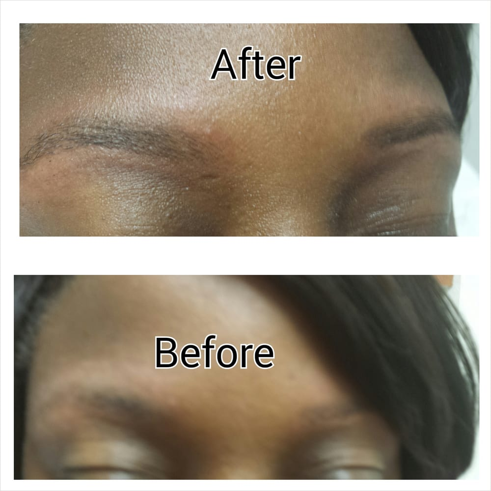 Before After Of Natural Eyebrow Tinting Yelp