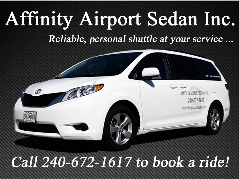 Affinity Airport Sedan, Inc.: 6417 Rock Forest Dr, Bethesda, MD