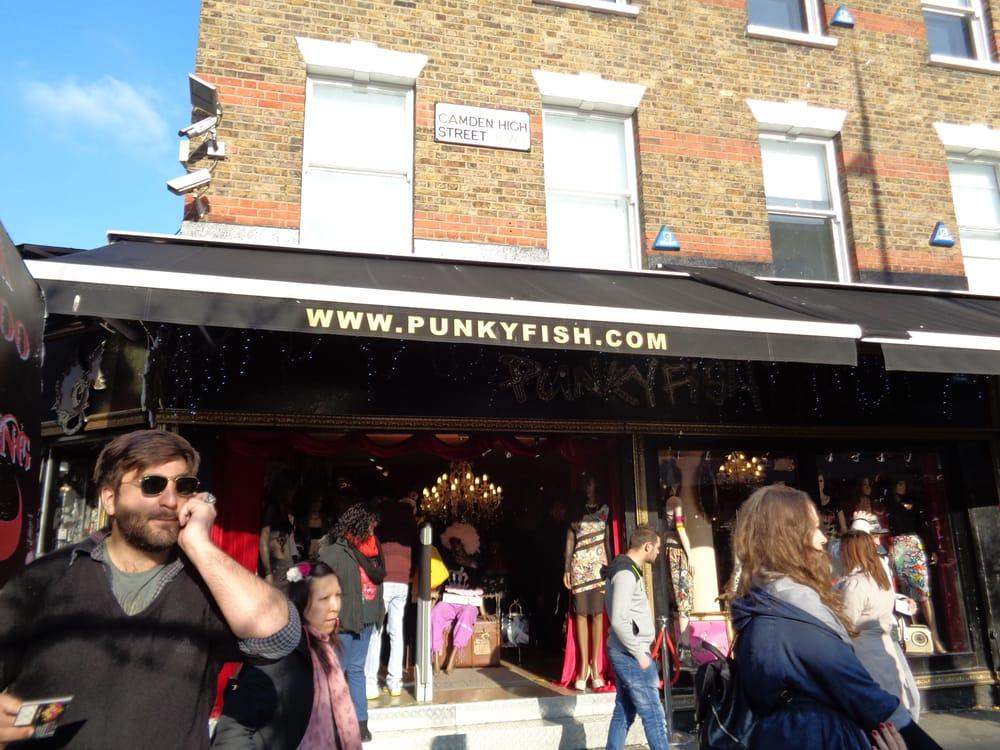 Punkyfish ropa femenina 190 camden high street camden - Cyberdog london reino unido ...