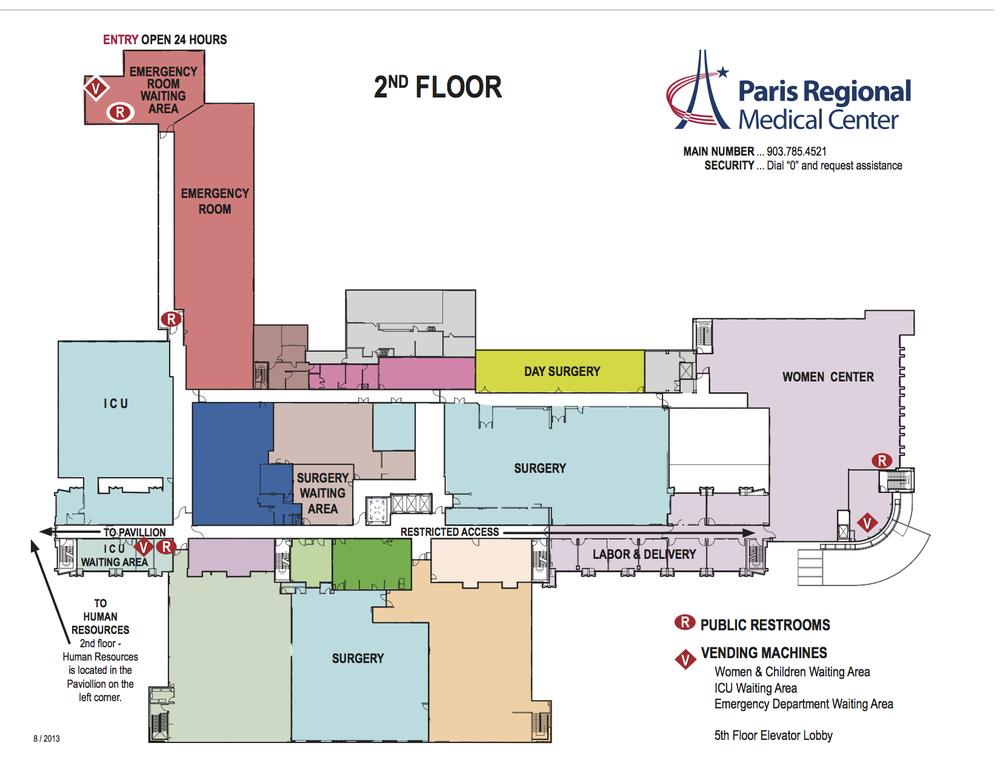 Paris Regional Medical Center Medical Centers 865