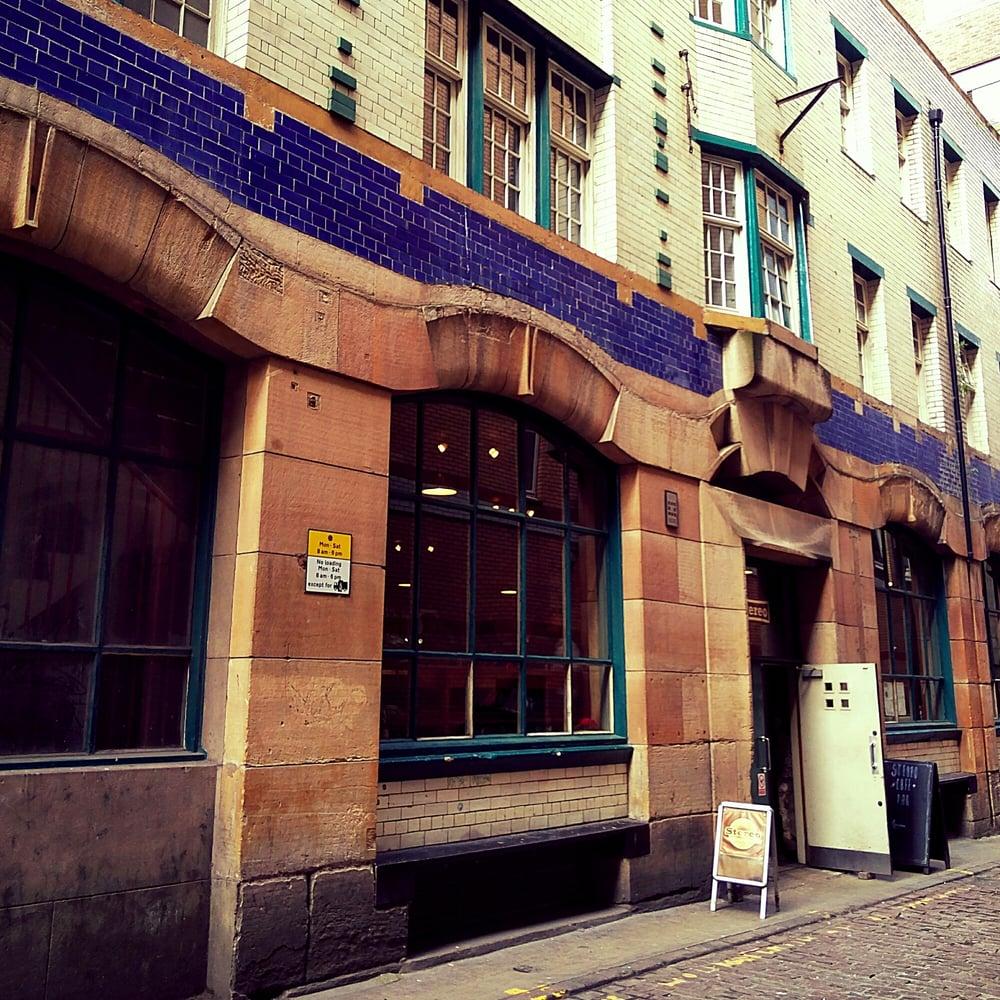 Stereo Restaurant Glasgow Menu