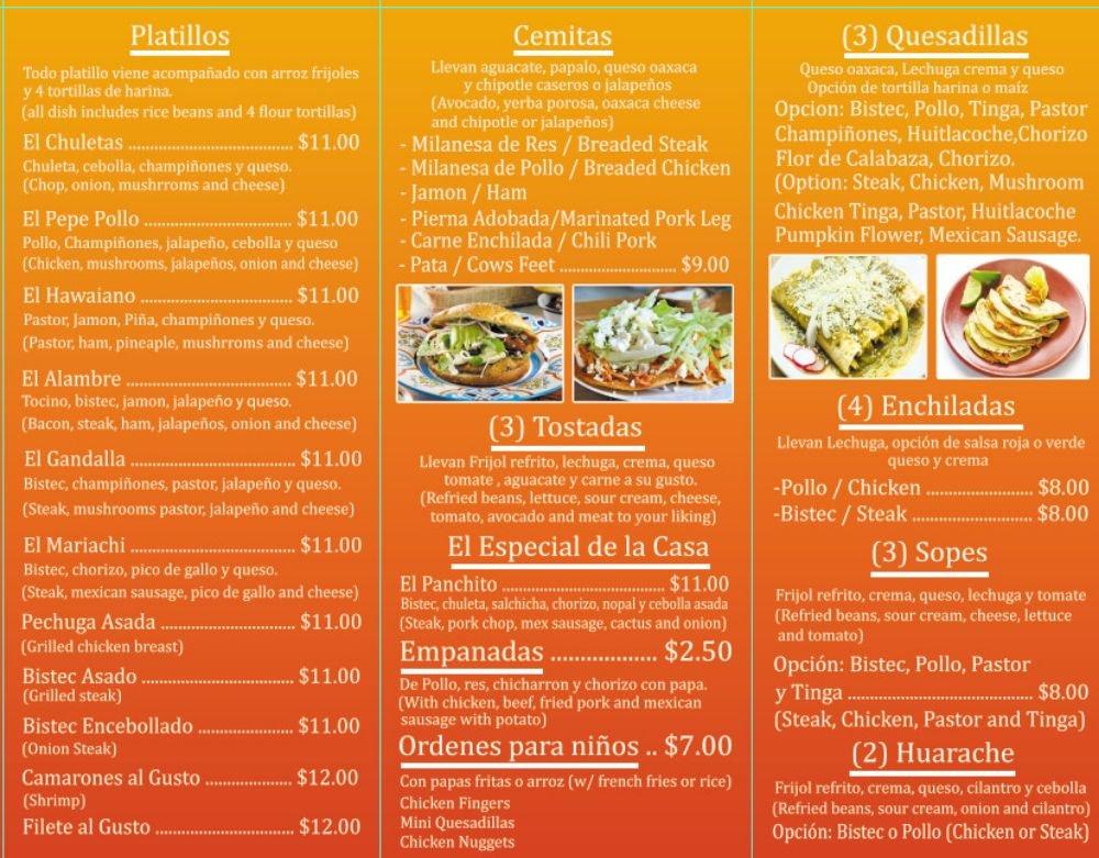 El Panchito Restaurant: 34 W 9th St, Hazleton, PA