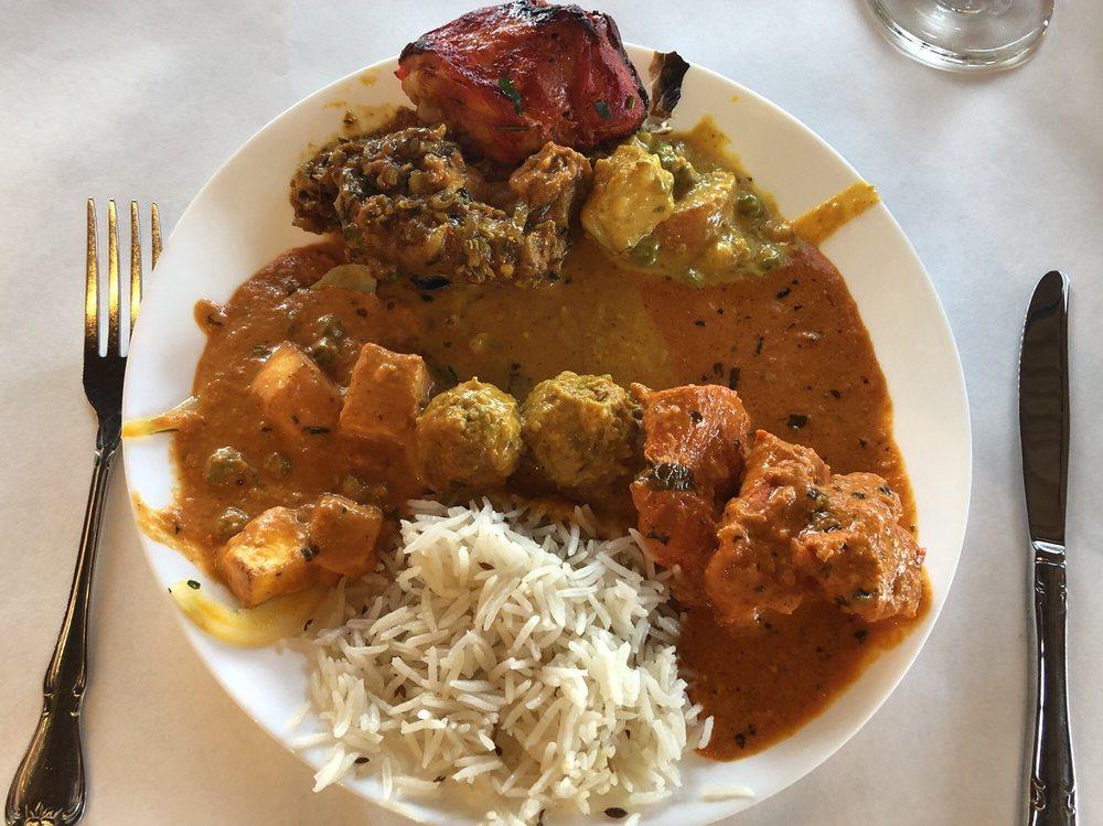 Food from Taj Palace