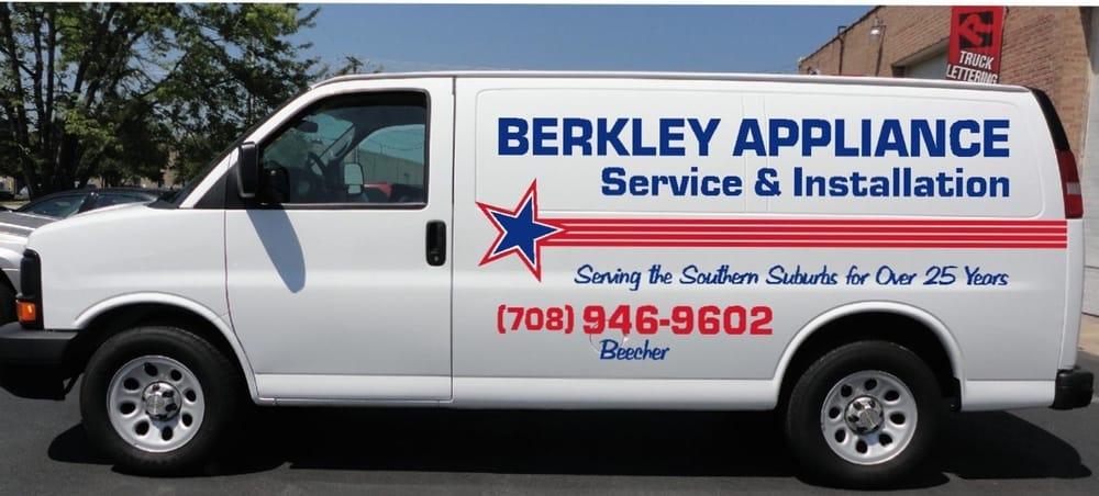 Berkley Appliance Inc: 332 Miller St, Beecher, IL