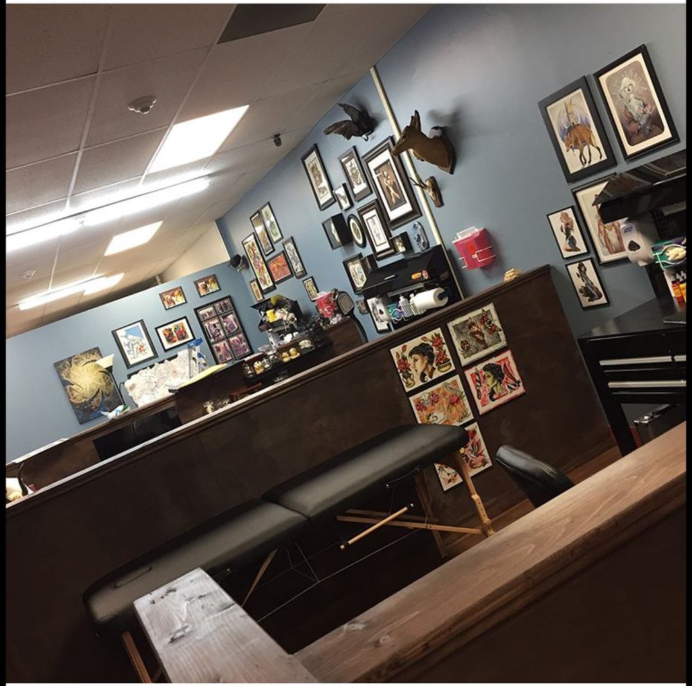 Raygun Samurai Tattoo: 7 E 3rd St, Bethlehem, PA