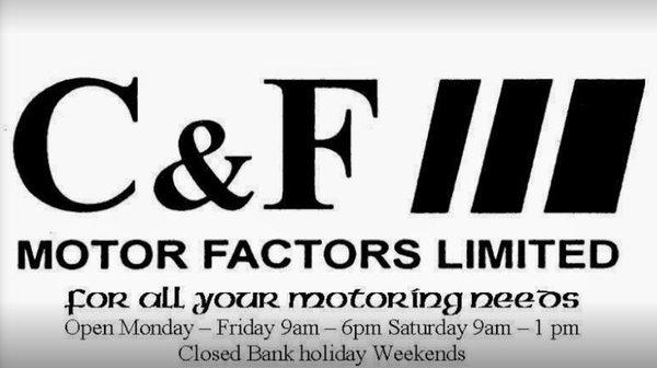Photo of C & F Motor Factors - Dublin, Republic of Ireland. OPEN HOURS