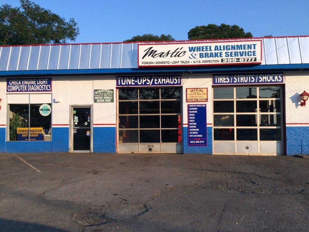 Mastic Wheel Alignment & Brake Service: 1180 Montauk Hwy, Mastic, NY