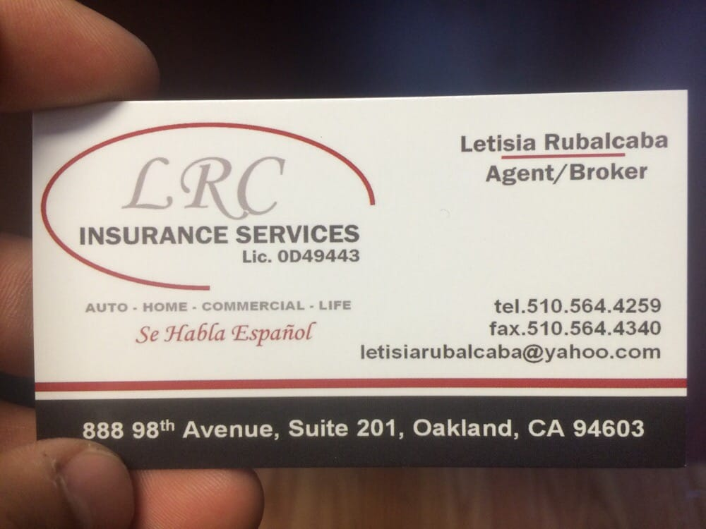 LRC Insurance Services - Insurance - 888 98th Ave, East Oakland ...