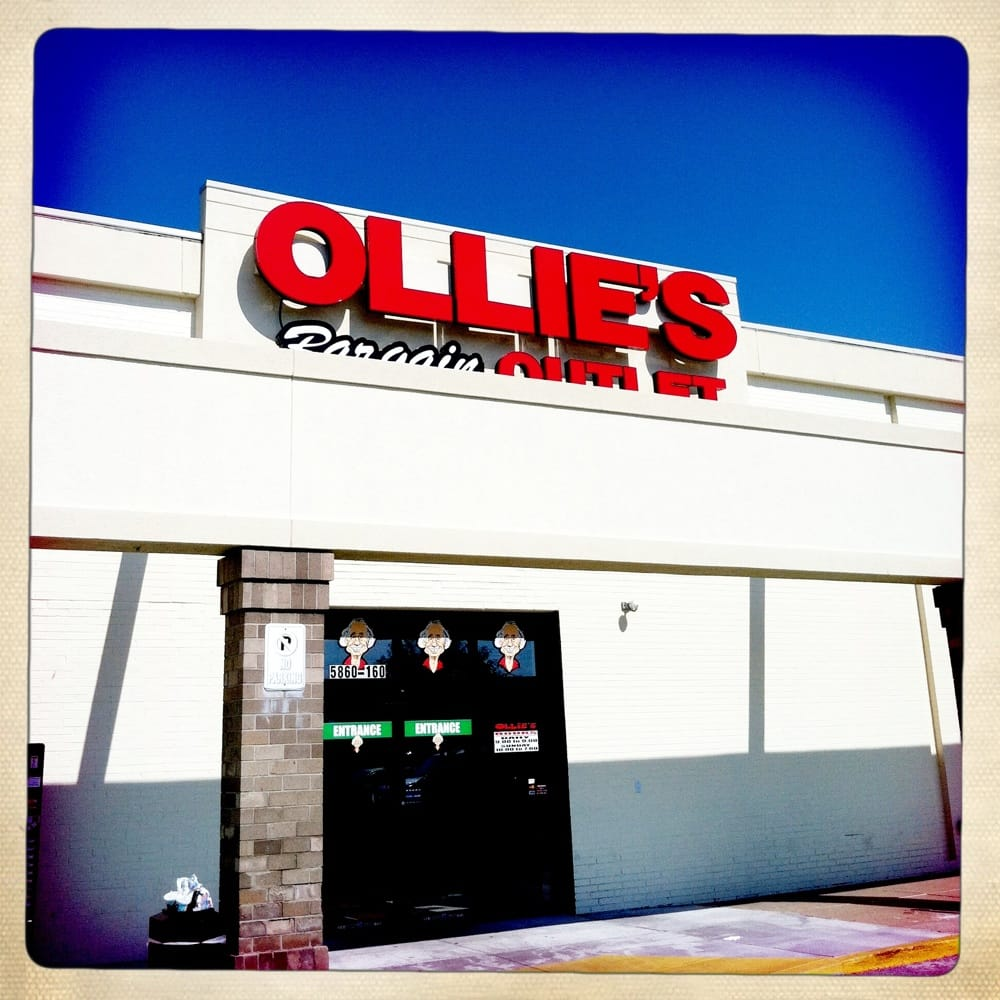 Walmart Credit Card Review >> Ollie's Bargain Outlet - Discount Store - 2157 N Telegraph