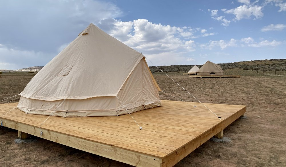 Glamping Canyonlands: 66 West UT-211, Monticello, UT