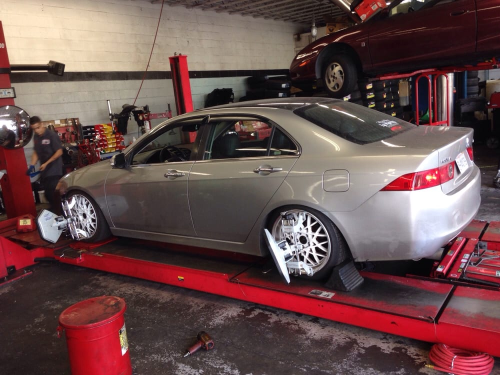 Wheel Alignment On Lowered Car Yelp