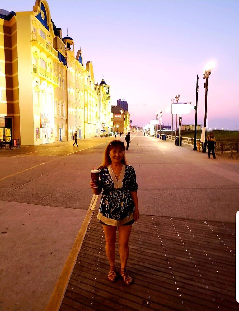 Atlantic City Beach and Boardwalk