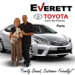 Toyota Dealership Everett >> Everett Toyota Paris Car Dealers 3235 Ne Loop 286 Paris Tx