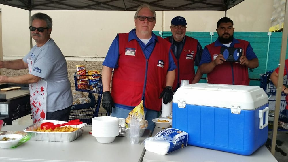 Some of the Lowes commercial sales team, Larry, Tim, Jim, Marco.. - Yelp