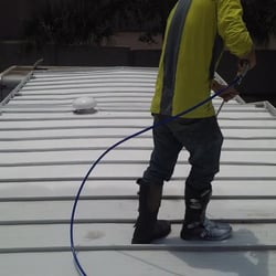 photo of all weather insulated roof coating services saint petersburg fl united states - Mobile Home Roof Coating