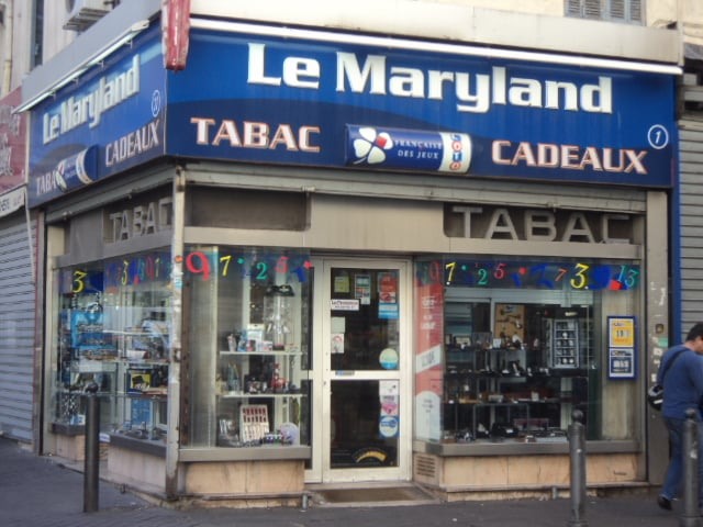 le maryland bureaux de tabac 1 rue rome noailles. Black Bedroom Furniture Sets. Home Design Ideas