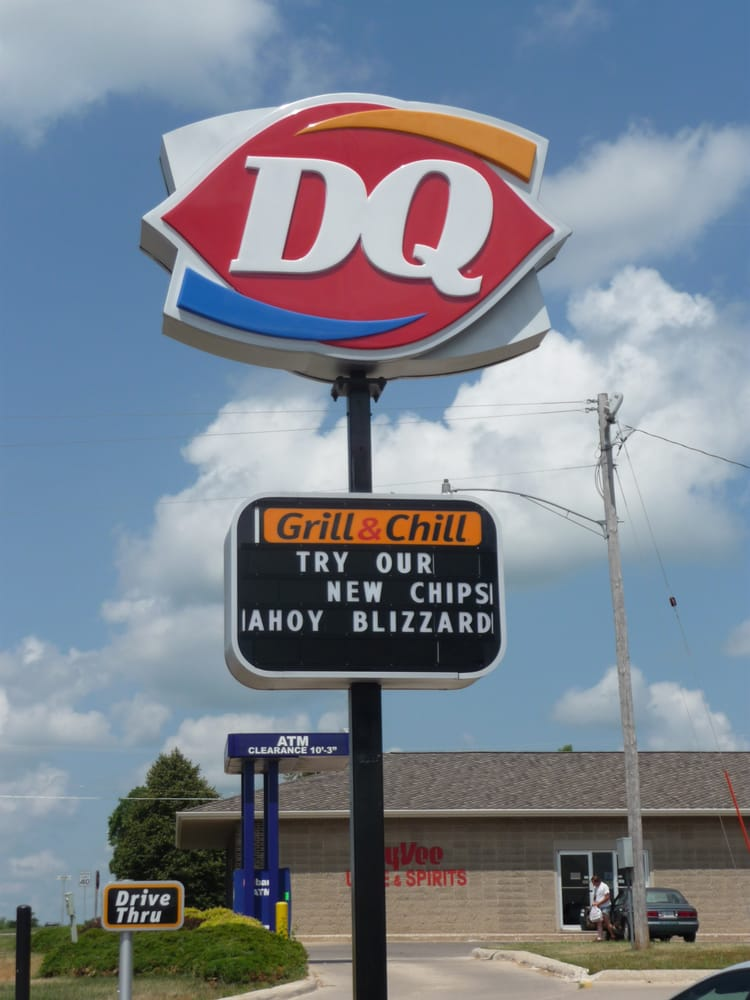 Dairy Queen Grill & Chill: 1007 13th St N, Humboldt, IA