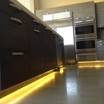 Led Toe Kick Lighting At Kitchen Area Yelp
