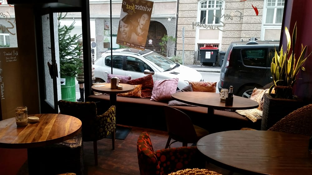 Cosy seating area throughout great for individuals or for My indigo salzburg