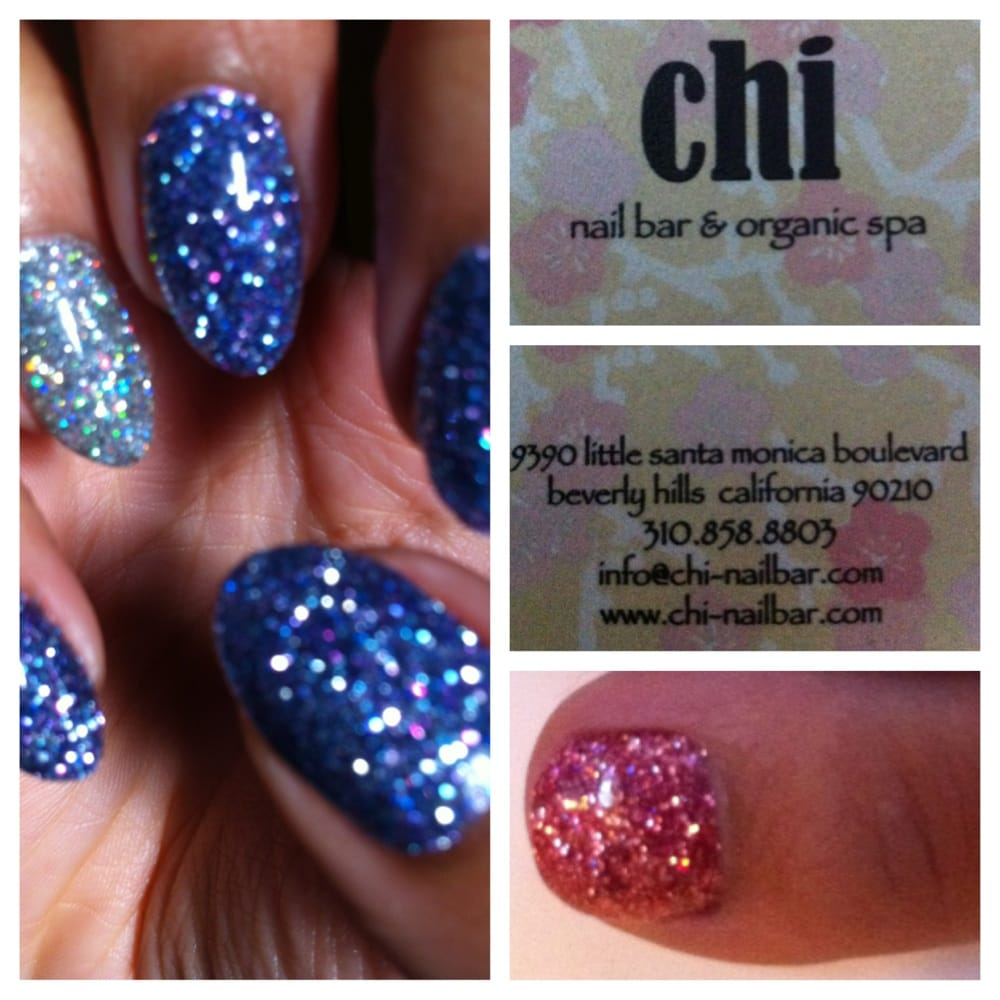 pearls and diamond nails by Lexi at Chi Nail Bar. instagram ...