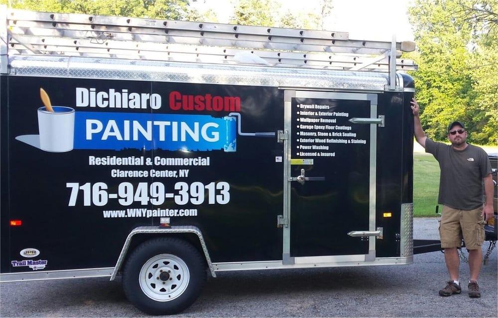 Dichiaro Custom Painting: 10590 Cedar Rd, Clarence Center, NY
